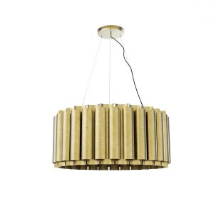 Aurum II Suspension Lamp by Brabbu Covet Lighting