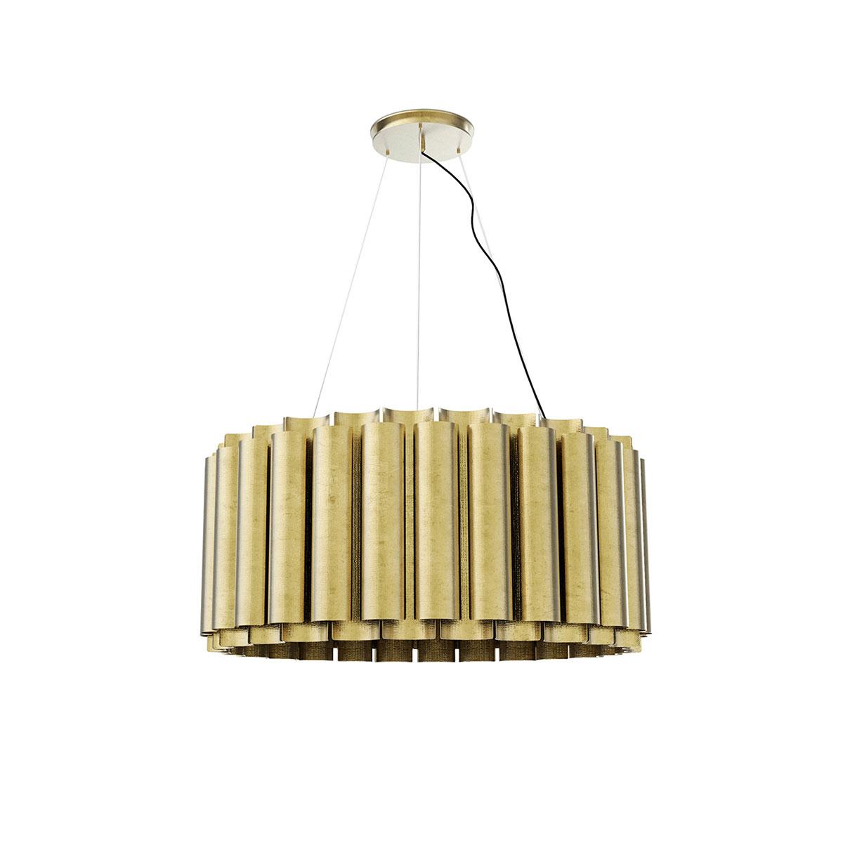 Aurum II Suspension Lamp by Brabbu Covet Lighting