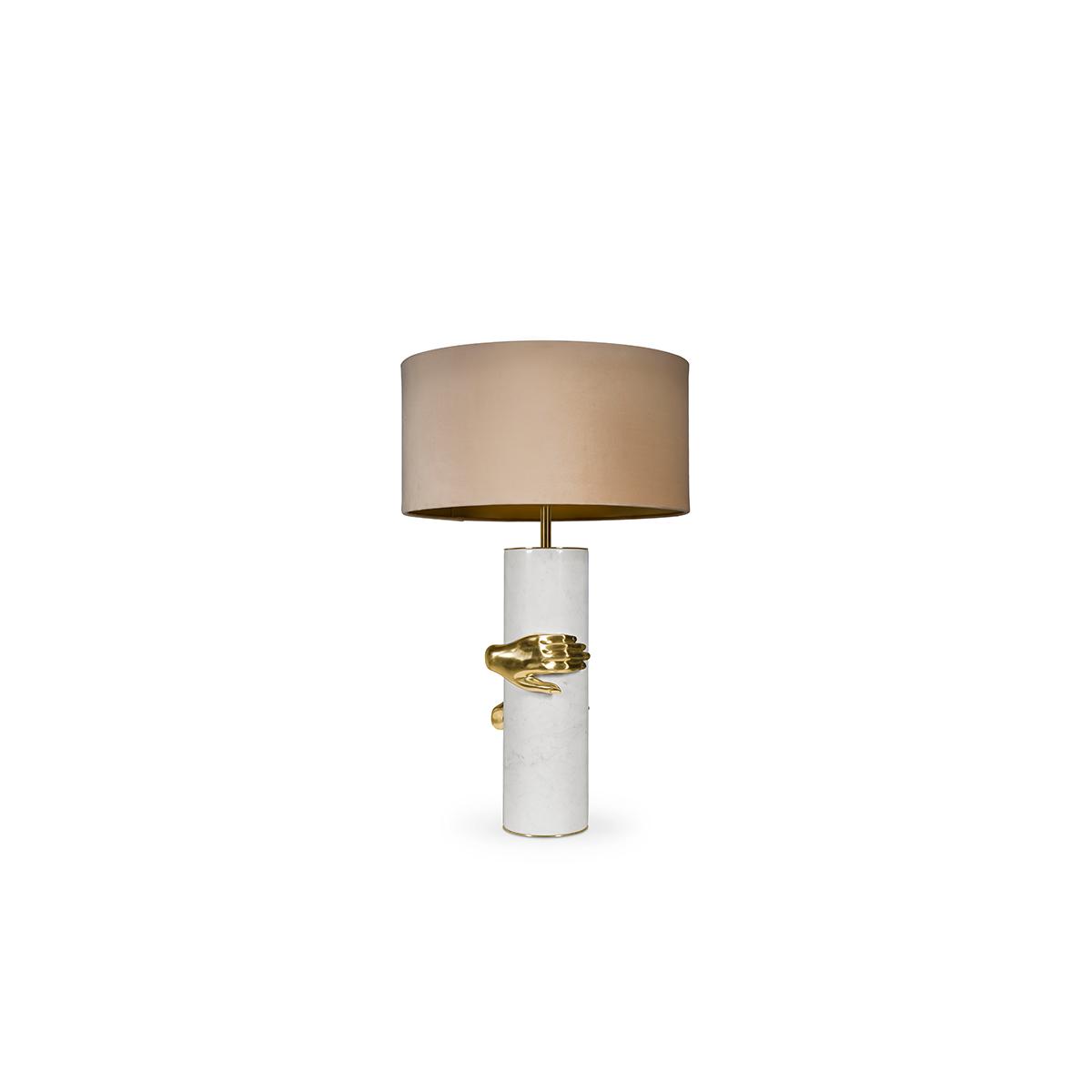 Vengeance Table Lamp by Koket Covet Lighting