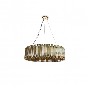 Matheny Round Suspension Lamp Delightfull Covet Lighting