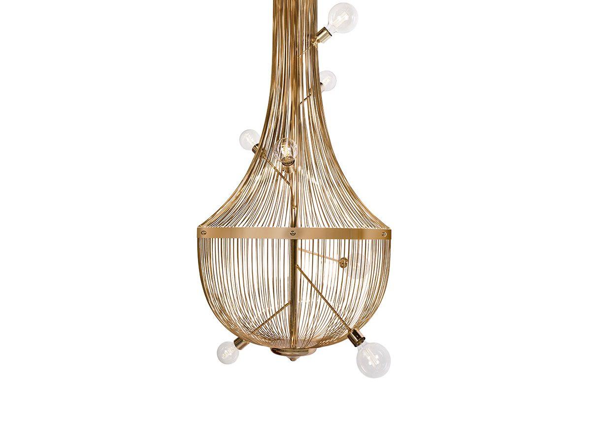 L'Chandelier Suspension Lamp by Boca do Lobo Covet Lighting