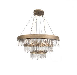 Naicca Chandelier by Brabbu Covet Lighting