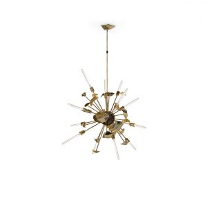 Supernova Chandelier by Boca do Lobo Covet Lighting