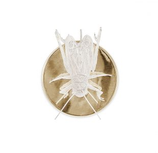 Filigree Cricket Wall Lamp by Boca do Lobo Covet Lighting