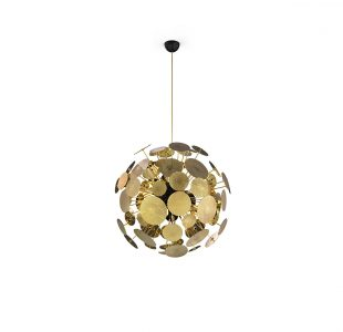 Newton Suspension Lamp by Boca do Lobo Covet Lighting