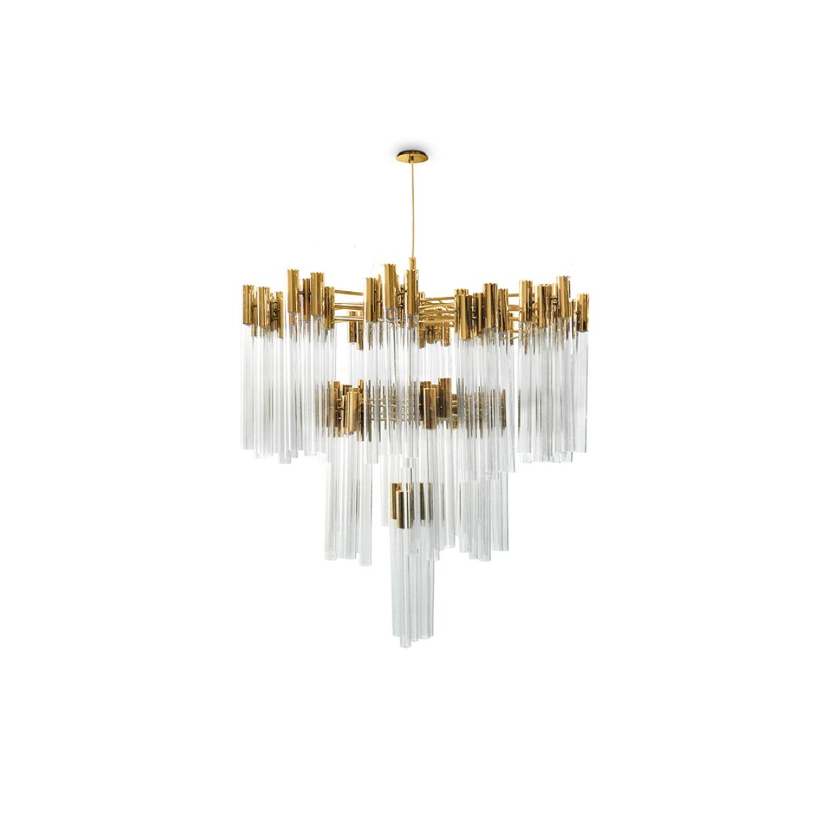 Burj Chandelier Luxxu Covet Lighting