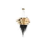 Guggenheim Chandelier by Luxxu Covet Lighting
