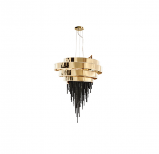 Guggenheim Chandelier by Luxxu Covet Lighting