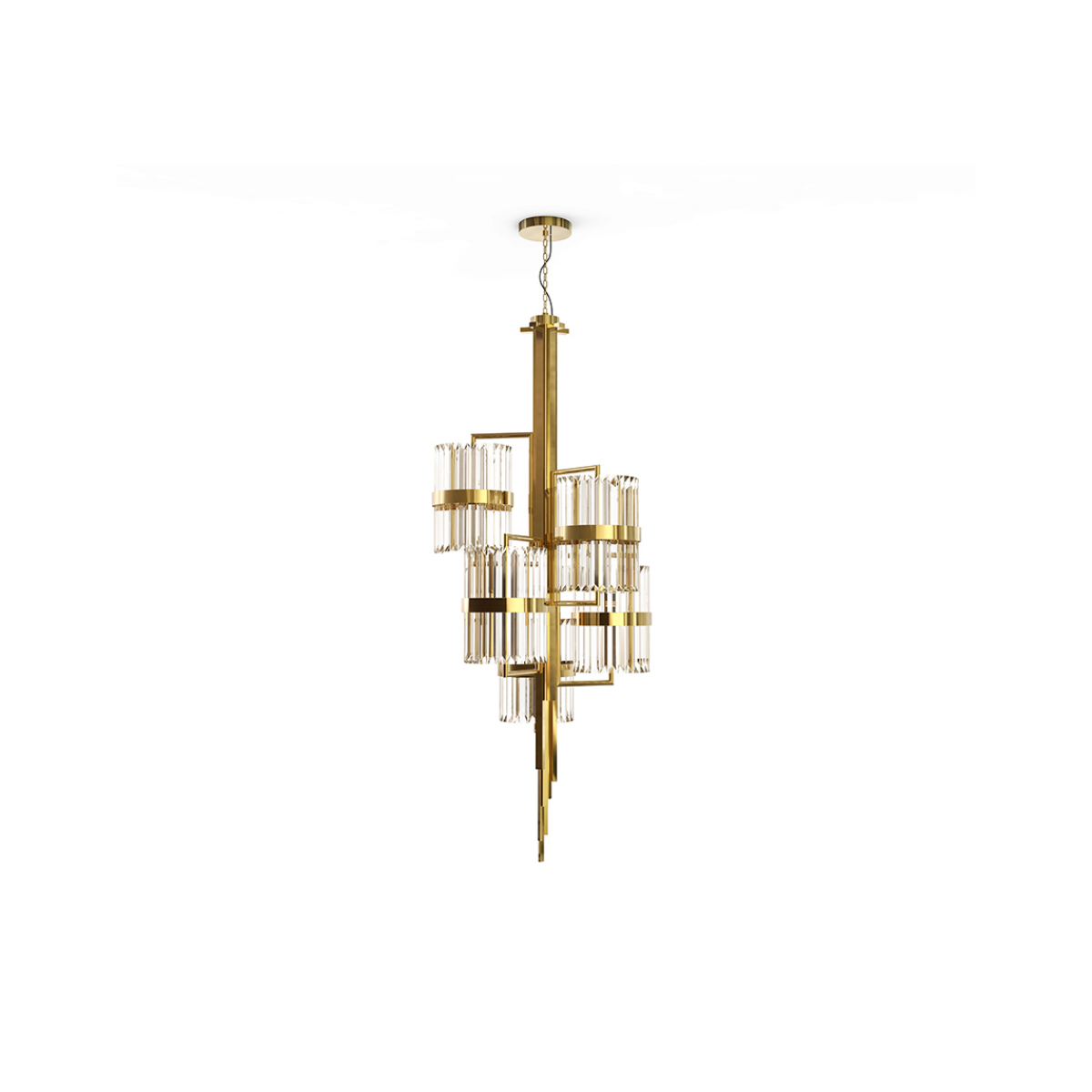Liberty Chandelier by Luxxu Covet Lighting