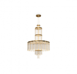 Pharo Chandelier by Luxxu Covet Lighting