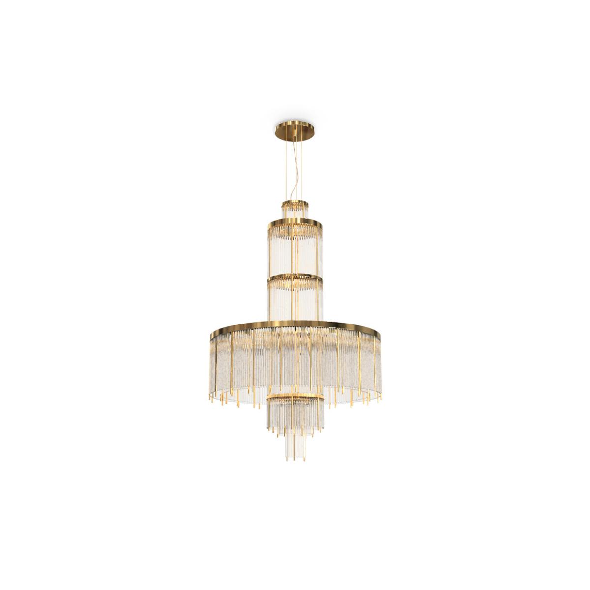 Pharo Chandelier by Luxxu Covet Lighting