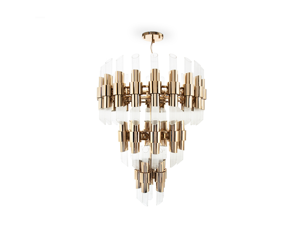 Tycho Chandelier by Luxxu Covet Lighting