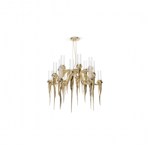 Wax Chandelier Luxxu Covet Lighting