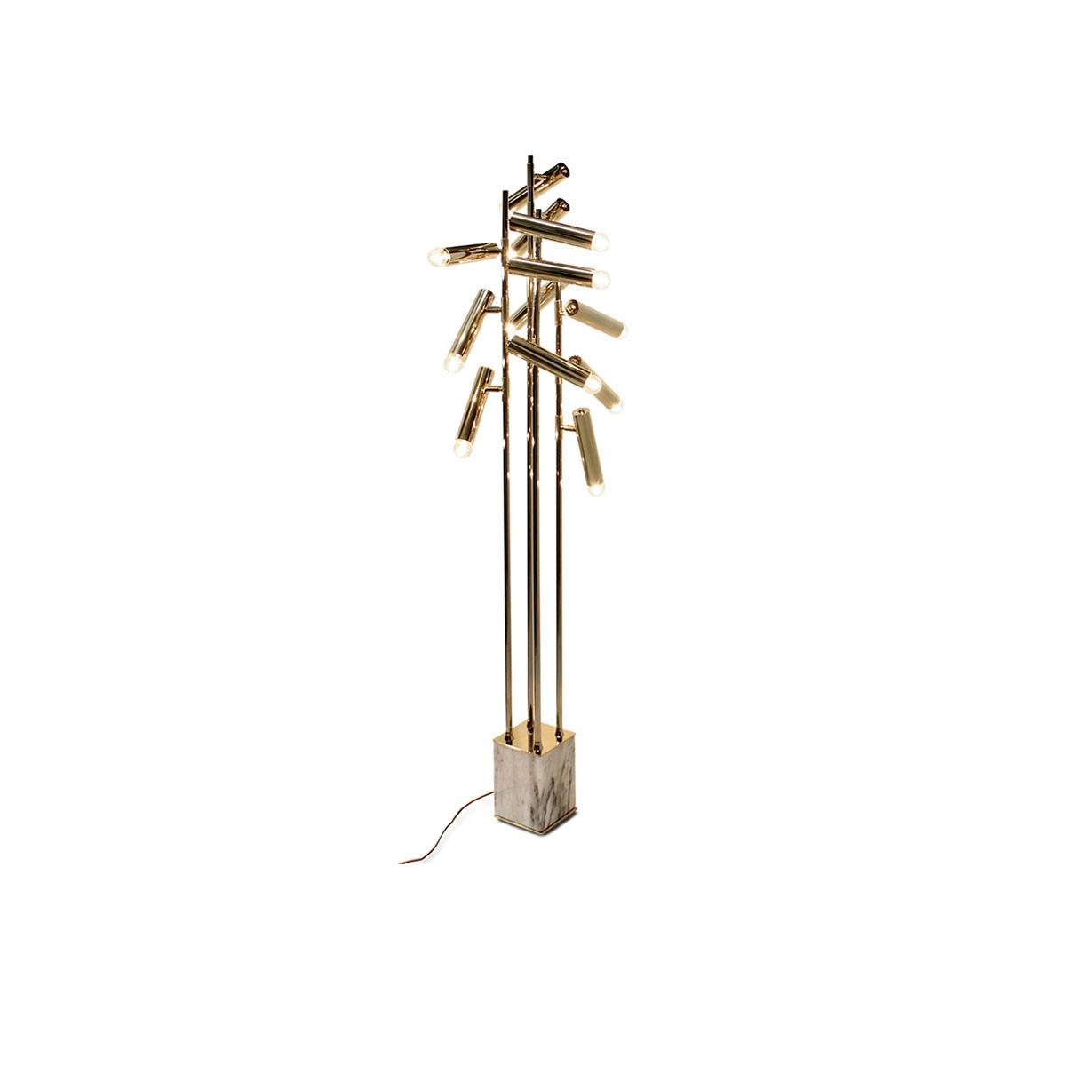 Cypres Floor Lamp by Brabbu Covet Lighting