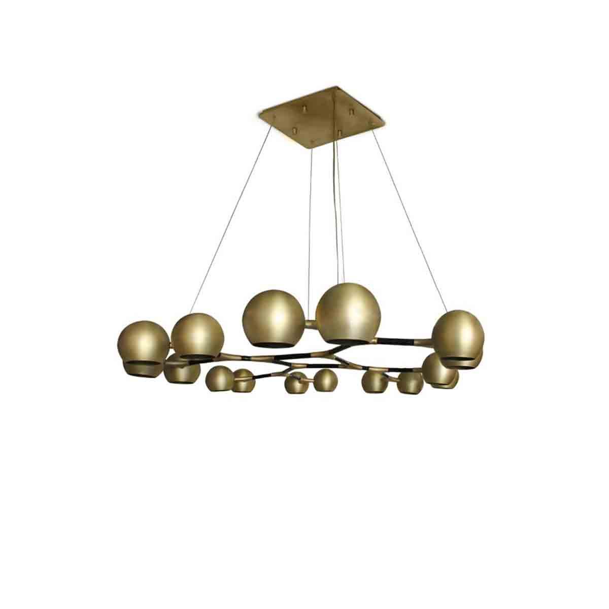Horus Suspension Lamp by Brabbu Covet Lighting
