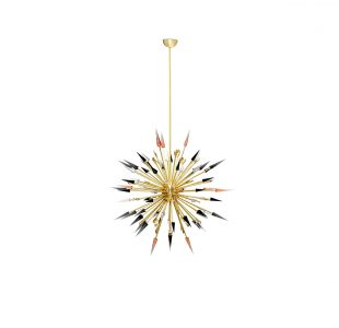 Outburst Suspension Lamp by Koket Covet Lighting