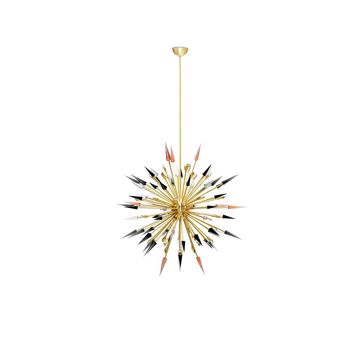 Outburst Suspension Lamp by Koket Covet Lighting