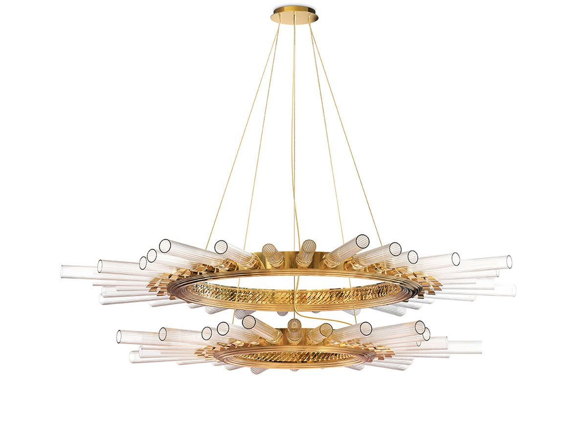 Majestic II Suspension Lamp by Luxxu Covet Lighting