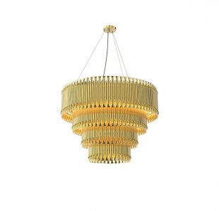 Matheny Chandelier by Delightfull Covet Lighting