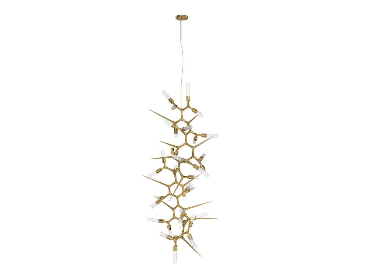 Shard Chandelier by Luxxu Covet Lighting