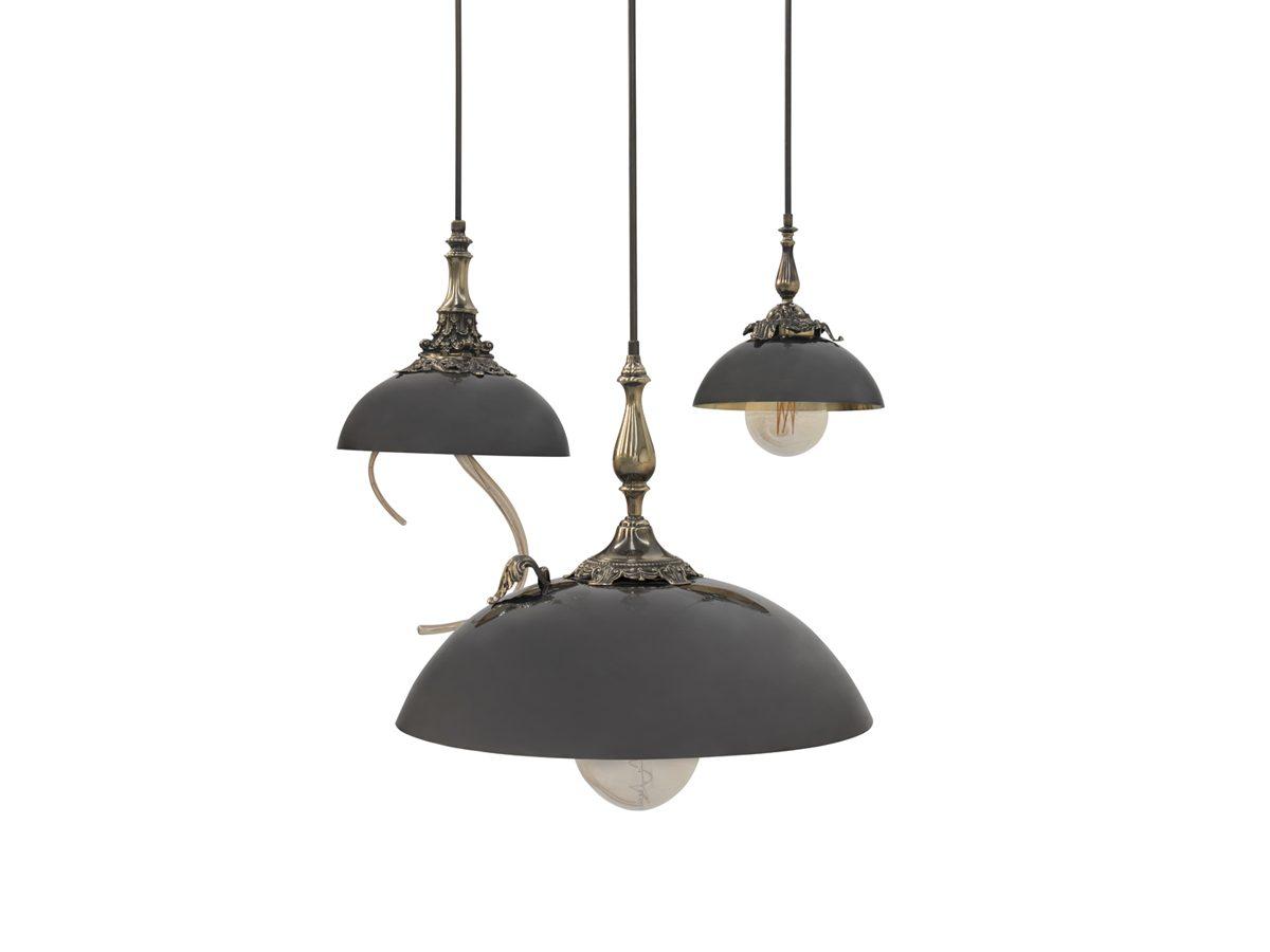 Triptico Suspension Lamp by Boca do Lobo Covet Lighting