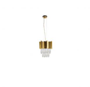 Empire II Small Pendant Lamp by Luxxu Covet Lighting