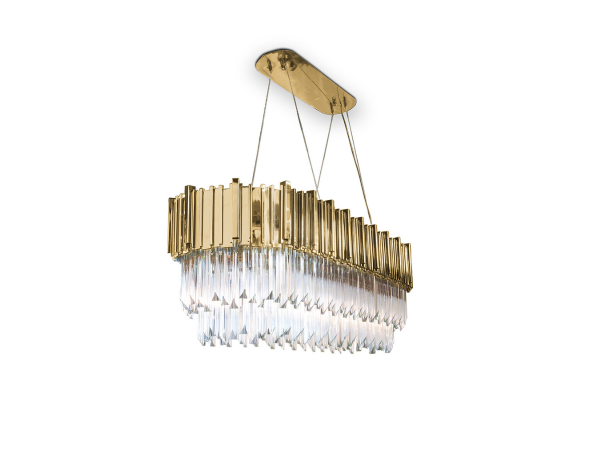Empire Snooker Suspension Lamp by Luxxu Covet Lighting