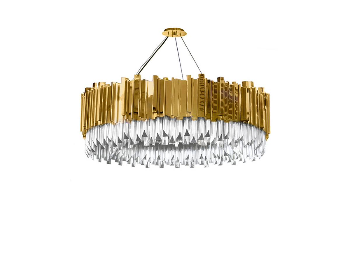 Empire Suspension Lamp by Luxxu Covet Lighting