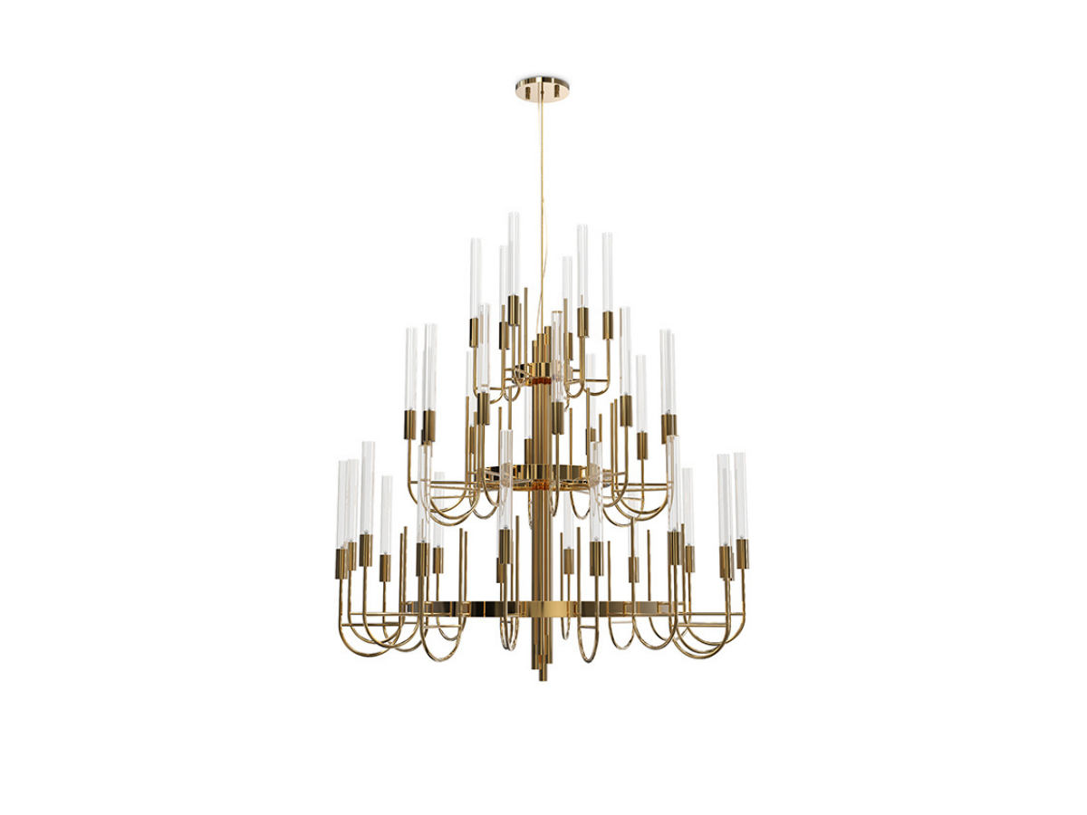 Gala Suspension Lamp by Luxxu Covet Lighting