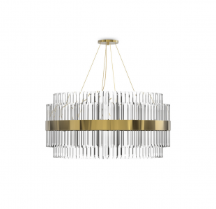 Liberty Suspension Lamp by Luxxu Covet Lighting