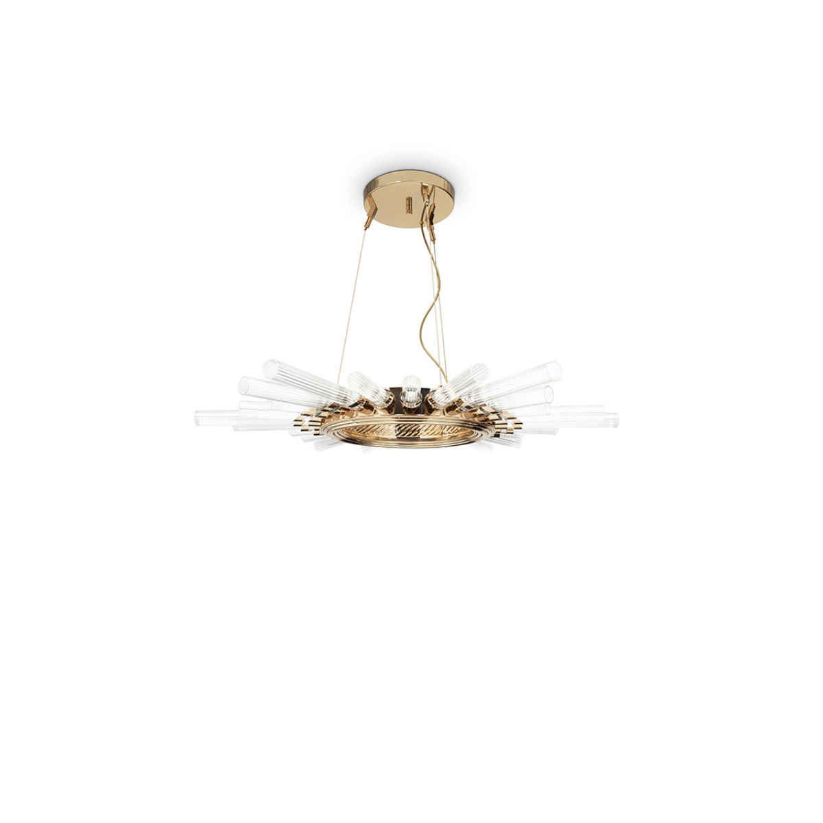 Majestic Suspension Lamp by Luxxu Covet Lighting