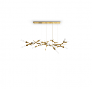 Shard Suspension Lamp by Luxxu Covet Lighting