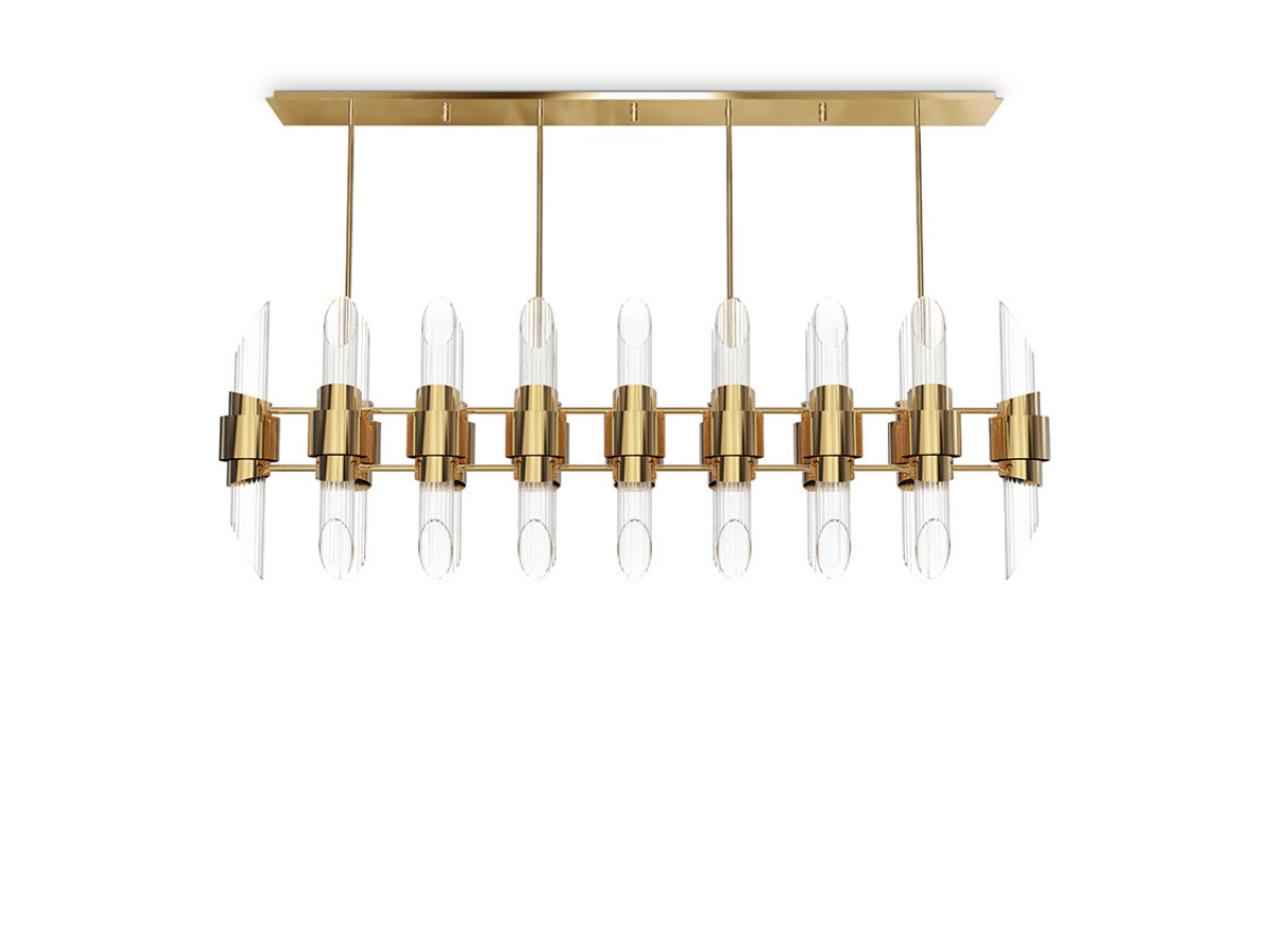 Tycho Rectangular Suspension Lamp by Luxxu Covet Lighting