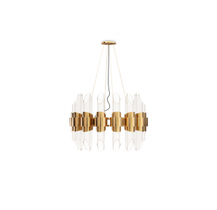 Tycho Round Suspension Lamp by Luxxu Covet Lighting