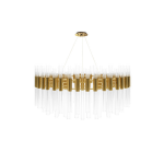 Waterfall Round Suspension Lamp by Luxxu Covet Lighting