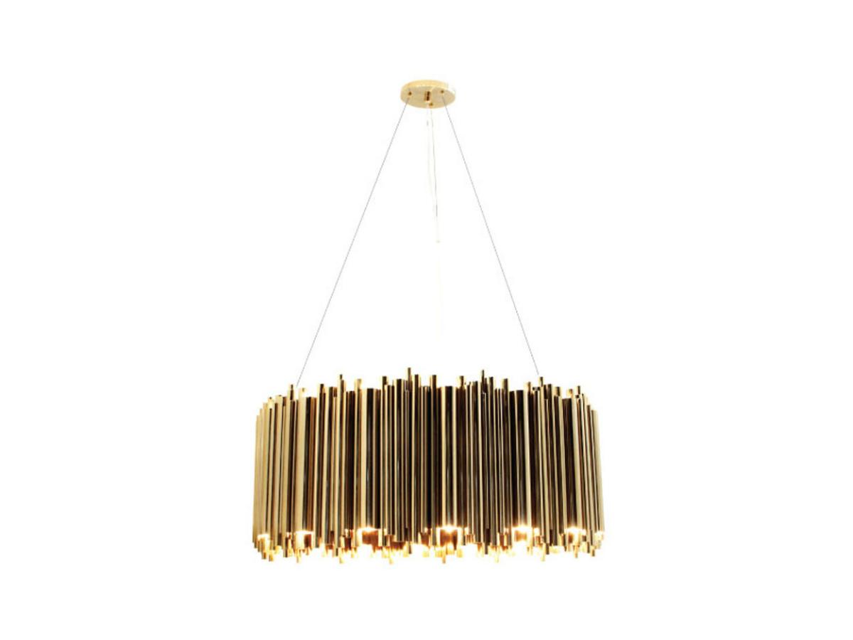 brubeck round suspension lamp delightfull