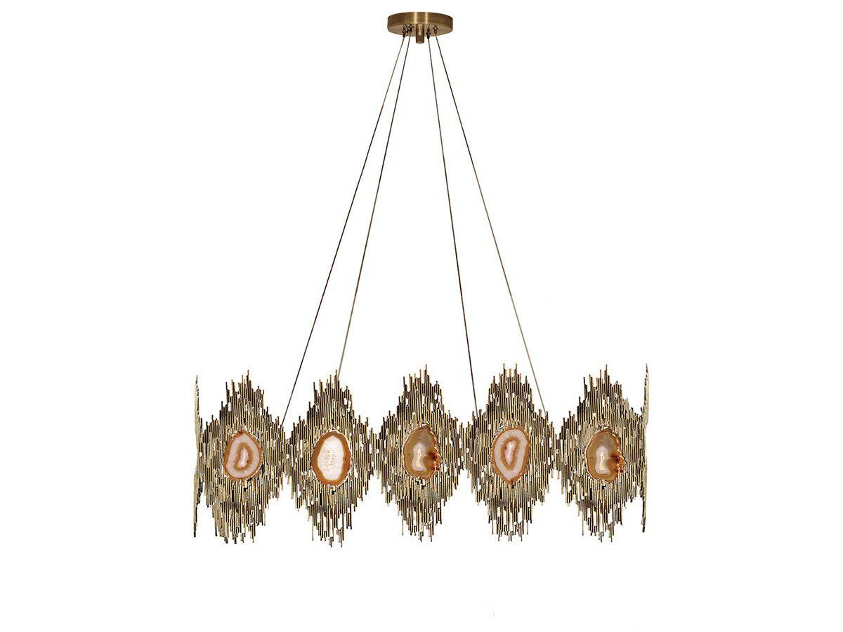 Vivre Rectangular Chandelier by Koket Covet Lighting