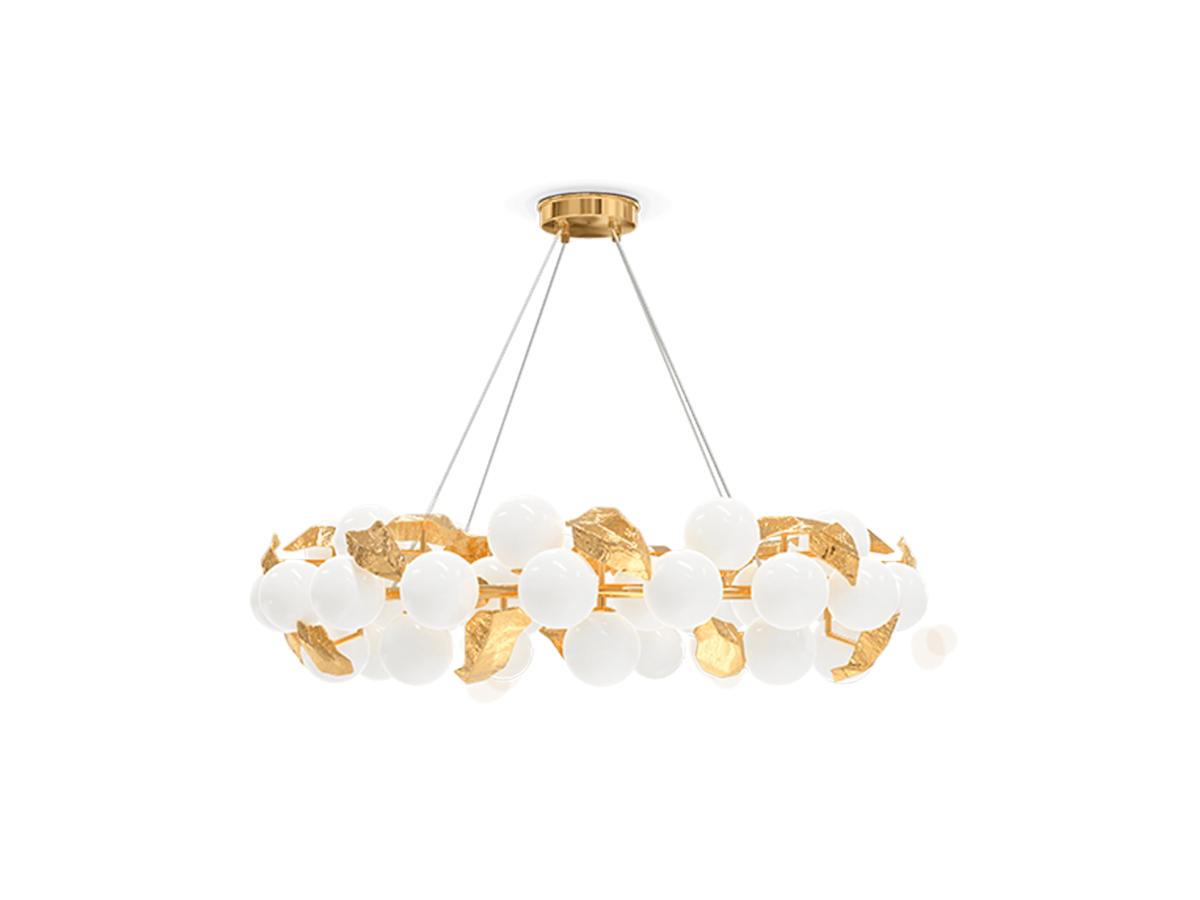 Hera Round I Suspension Lamp by Boca do Lobo Covet Lighting