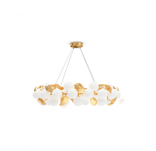 Hera Round I Suspension Lamp by Boca do Lobo Covet Lighting