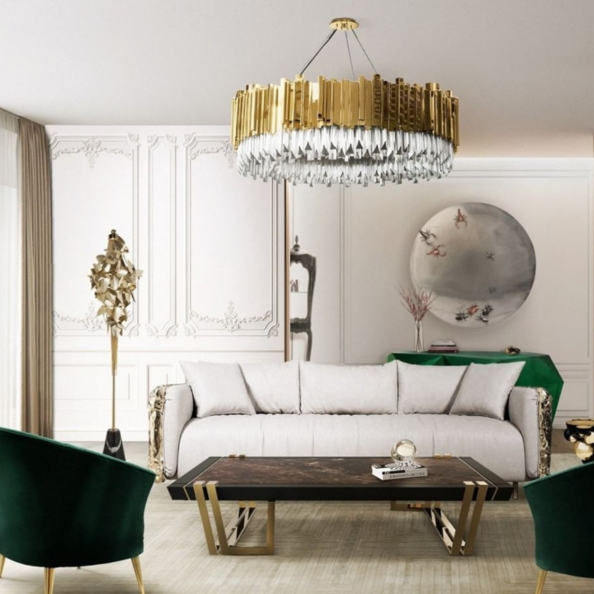 Living Room by Covet Lighting