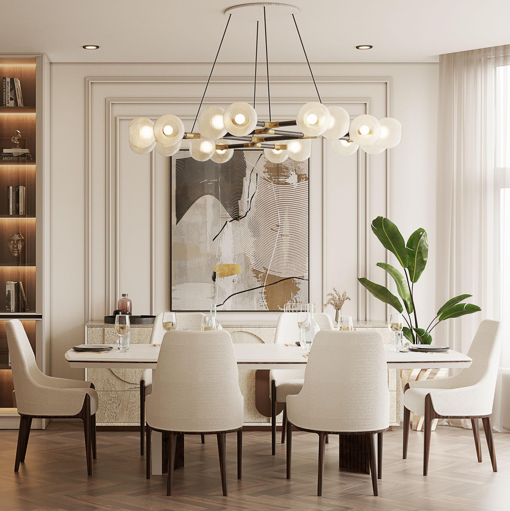 Modern Contemporary Dining Room, Contemporary Dining Room
