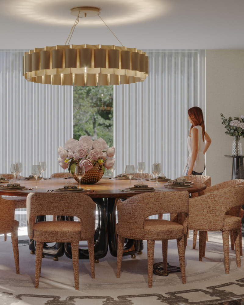 An Elegant and Modern Dining Room